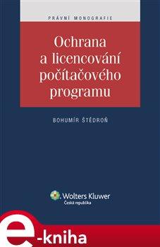 Obálka titulu Ochrana a licencování počítačového programu