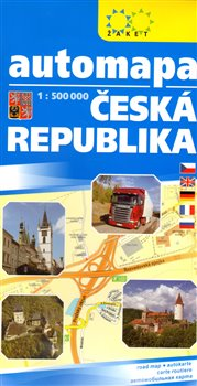 Automapa ČR - 1 : 500 000