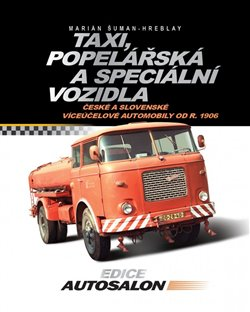 Obálka titulu Taxi, popelářská a speciální vozidla