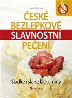 Obálka titulu České bezlepkové slavnostní pečení