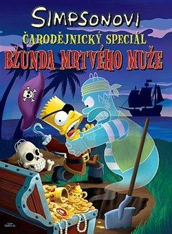 Obálka titulu Simpsonovi: Bžunda mrtvého muže
