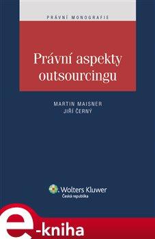 Obálka titulu Právní aspekty outsourcingu