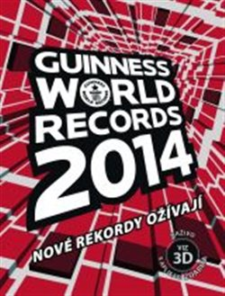 Obálka titulu Guinness World Records 2014