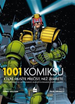 Obálka titulu 1001 komiksů, které musíte přečíst, než zemřete