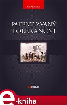 Obálka titulu Patent zvaný toleranční