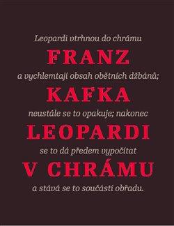 Obálka titulu Leopardi v chrámu