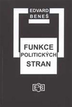 Obálka titulu Funkce politických stran