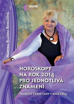 Obálka titulu Horoskopy na rok 2014 pro jednotlivá znamení