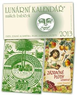 Obálka titulu Lunární kalendář 2014 + Zázračná zelenina + Sedmý rok s Měsícem