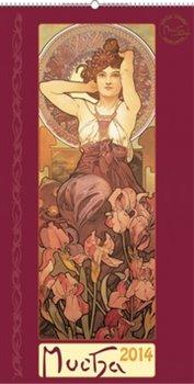 Obálka titulu Alfons Mucha 2014 - nástěnný kalendář