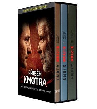 Kmotr Mrázek. Trilogie:Příběh Kmotra - Jaroslav Kmenta | Booksquad.ink
