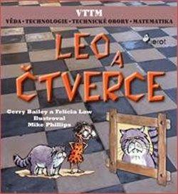 Obálka titulu Leo a čtverce