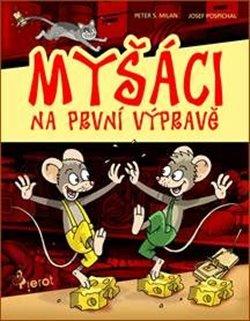 Obálka titulu Myšáci na první výpravě