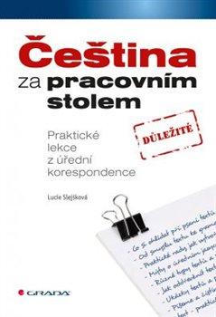 Obálka titulu Čeština za pracovním stolem