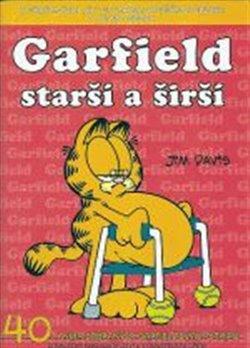 Obálka titulu Garfield 40: Starší a širší