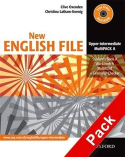 Obálka titulu New English File Upper-Intermediate MultiPack A