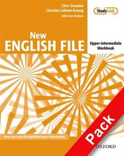 Obálka titulu New English File Upper-Intermediate Workbook with Key and MultiROM Pack
