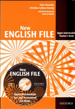 Obálka titulu New English File Upper-Intermediate Workbook with MultiROM Pack
