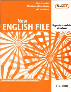 Obálka titulu New English File Upper-Intermediate ER Workbook