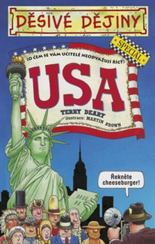 Obálka titulu Děsivé dějiny USA