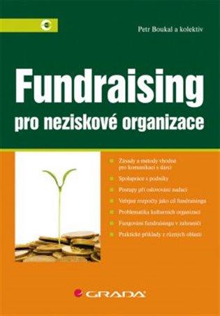 Fundraising:Pro neziskové organizace - Petr Boukal,   Booksquad.ink