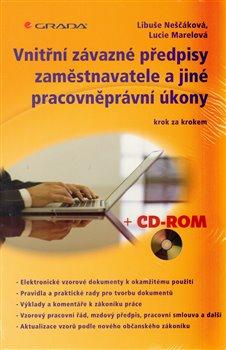 Obálka titulu Vnitřní závazné předpisy zaměstnavatele a jiné pracovněprávní úkony