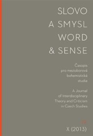 Slovo a smysl / Word & Sense 19