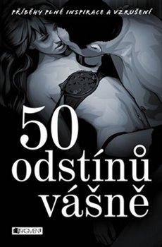 Obálka titulu 50 odstínů vášně