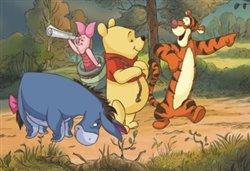 Obálka titulu Puzzle Medvídek Pú na výpravě 24 dílků