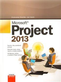Obálka titulu Microsoft Project 2013