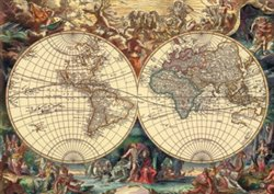 Obálka titulu Puzzle Historická mapa 1000 dílků