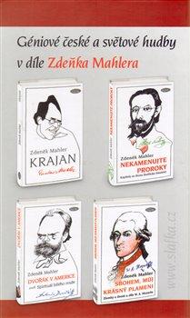 Obálka titulu Géniové české a světové hudby v díle Zdeňka Mahlera