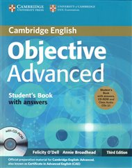 Objective Advanced 3rd edition Student´s Book Pack (Student´s Book with answers with CD-ROM and Class Audio CDs (3))