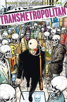 Obálka titulu Transmetropolitan 9: Lék