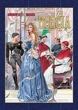 Obálka titulu Borgia