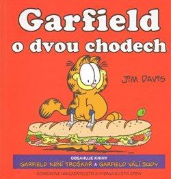 Obálka titulu Garfield o dvou chodech