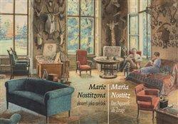 Obálka titulu Marie Nostitzová - Akvarel jako svědek / Das Aquarell als Zeuge