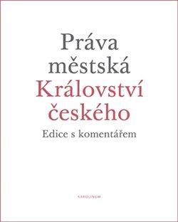 Obálka titulu Práva městská Království českého