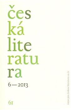 Obálka titulu Česká literatura 6/2013