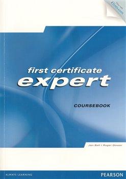 Obálka titulu First certificate expert Coursebook