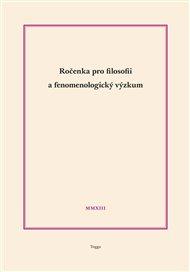 Ročenka pro filosofii a fenomenologický výzkum 2013