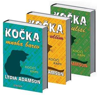 3x Kočičí krimi:Kočka v rouše vlčím, Kočka mnoha barev, Kočka v zákulisí - Lydia Adamson | Booksquad.ink