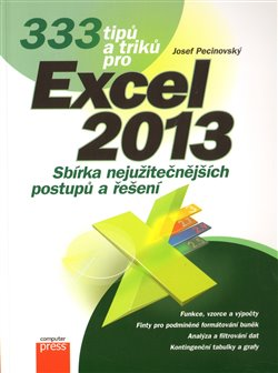 Obálka titulu 333 tipů a triků pro Microsoft Excel 2013