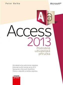 Obálka titulu Microsoft Access 2013