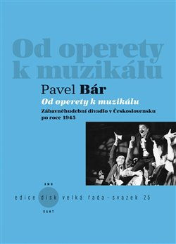 Obálka titulu Od operety k muzikálu