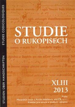 Obálka titulu Studie o rukopisech 43