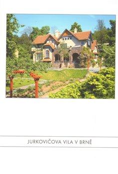 Obálka titulu Jurkovičova vila v Brně