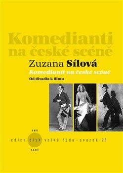 Obálka titulu Komedianti na české scéně