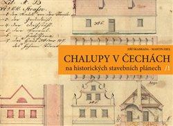 Obálka titulu Chalupy v Čechách na historických stavebních plánech
