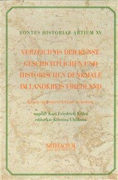 Obálka titulu Verzeichnis der Kunstgeschichtlichen und Historischen Denkmale im Landkreis Friedland